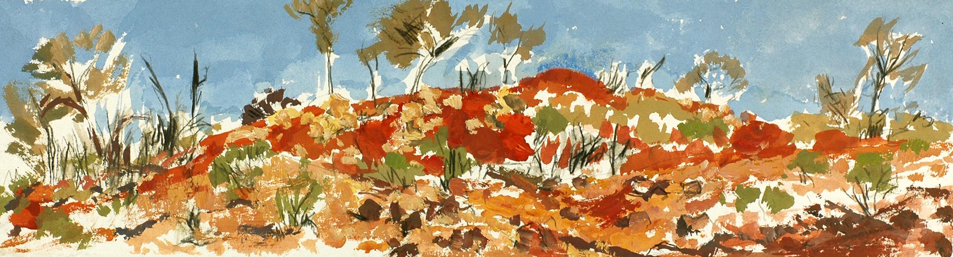 Simpson Desert ochre,  2013