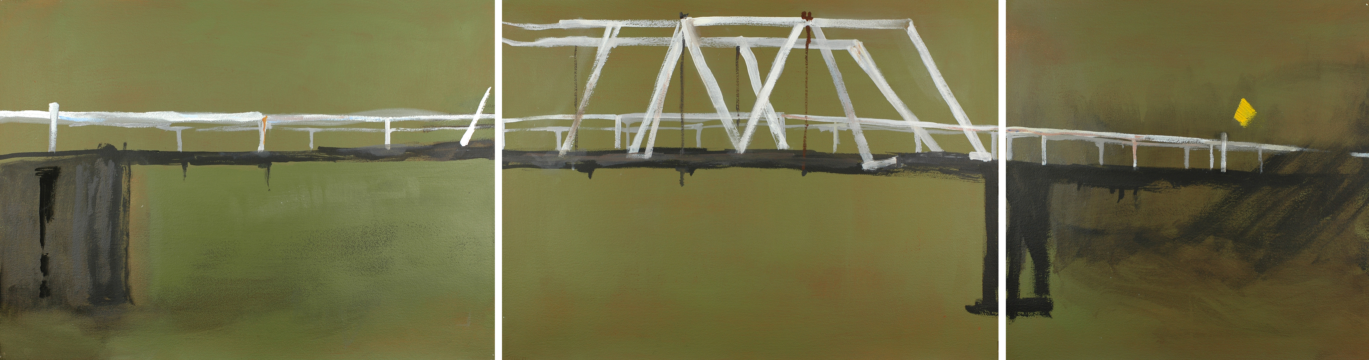 Bridge Triptych,  2010