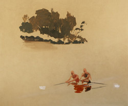 The Rowers, Herring Island,  2014