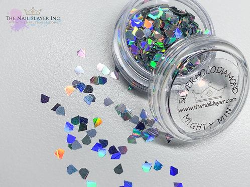 Silver Holo Diamonds