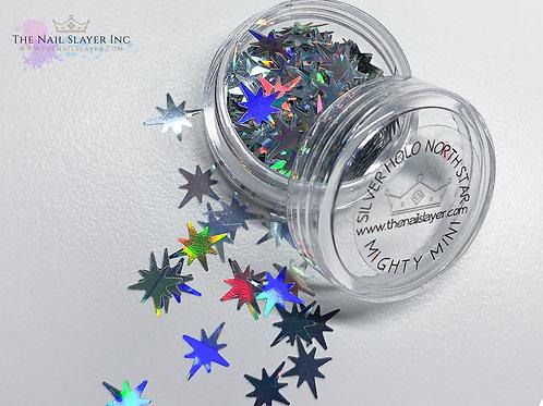 Silver Holo North Star