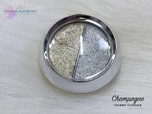 Champagne Ombre Chrome