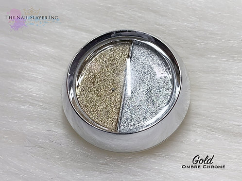 Gold Ombre Chrome