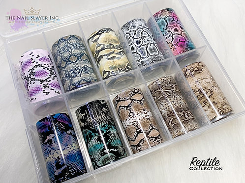 Reptile Foil Collection