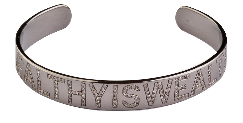 Bangle #HEALTHYISWEALTHY