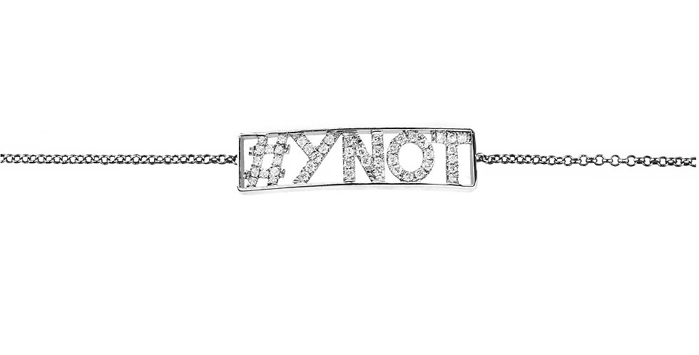 The #YNOT necklace