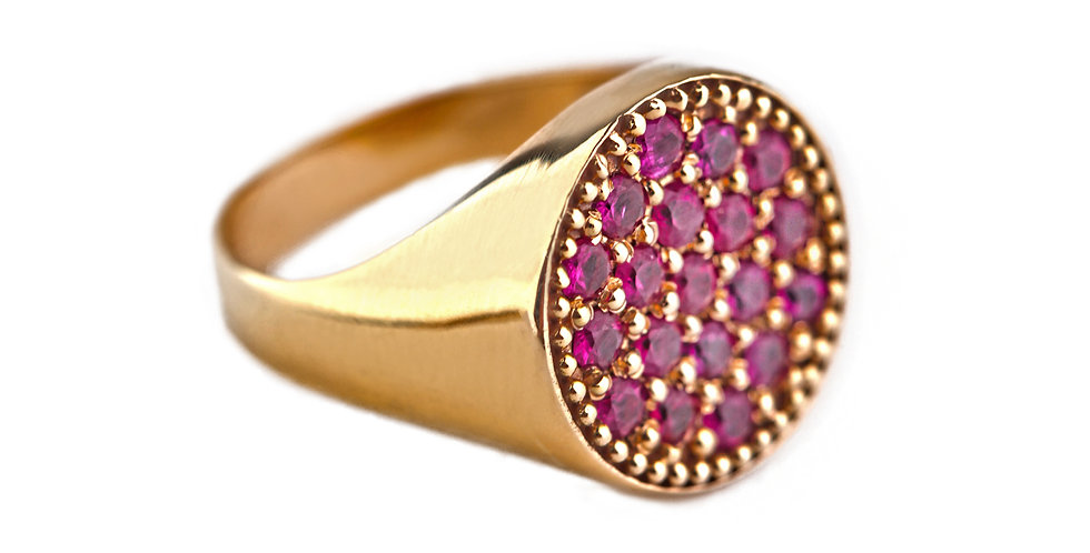 The AristoCat Pinky ring