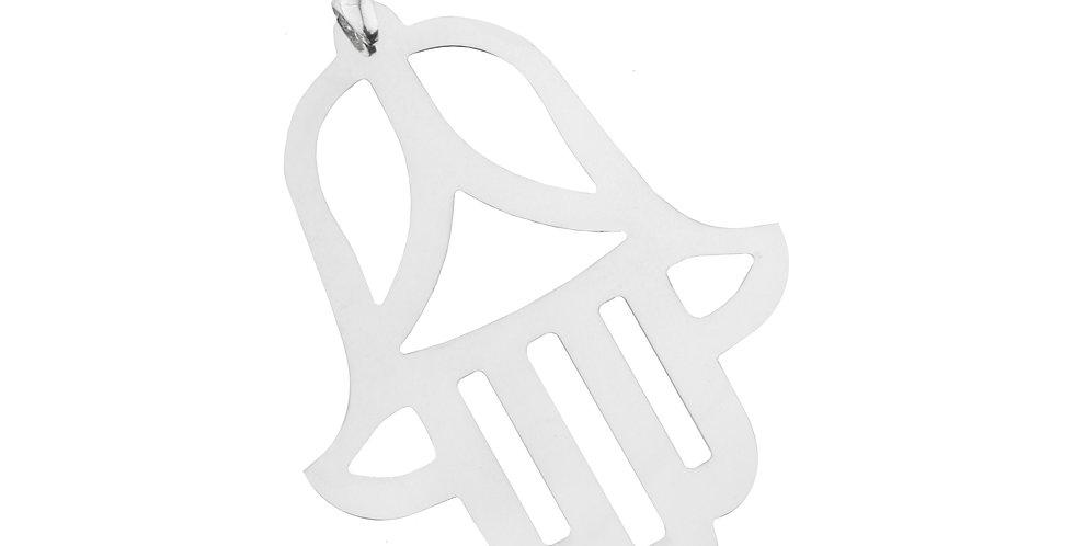 The Hamsa Hand pendant