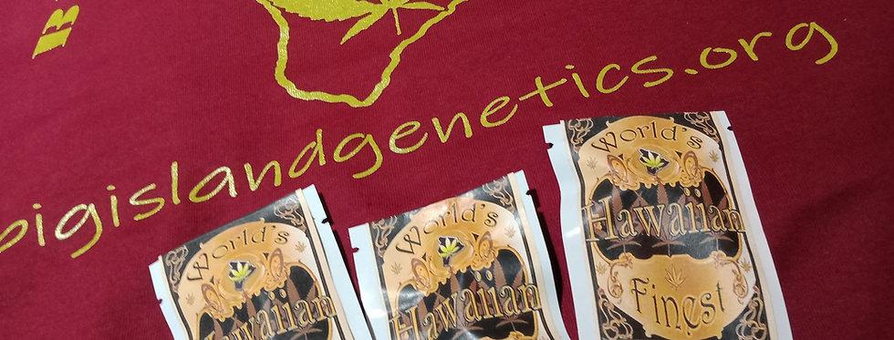 Big Island Genetics- Tshirt with LOGO