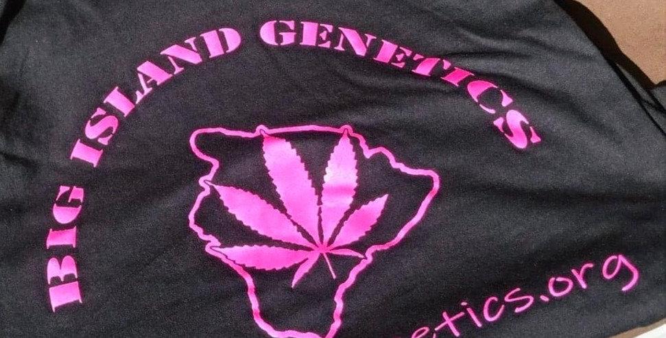 Big Island Genetics ladies tank top
