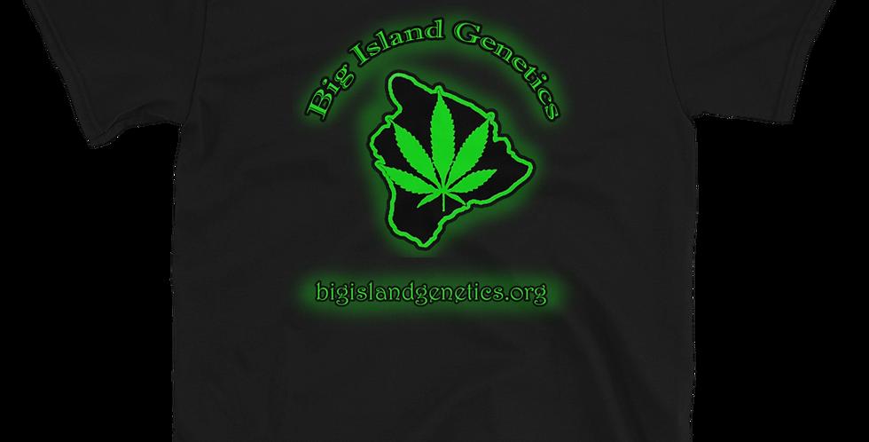 BIG green logo  with glow
