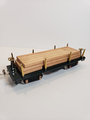 No. 511 Flat Car with Wood Load