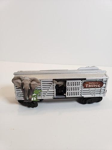 Circus Train Elephant