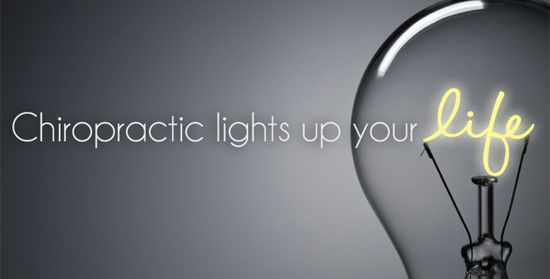 Chiropractic lights up your life.