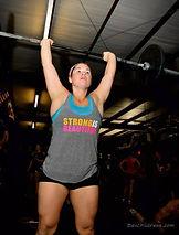 Nebile Erdmann doing CrossFit