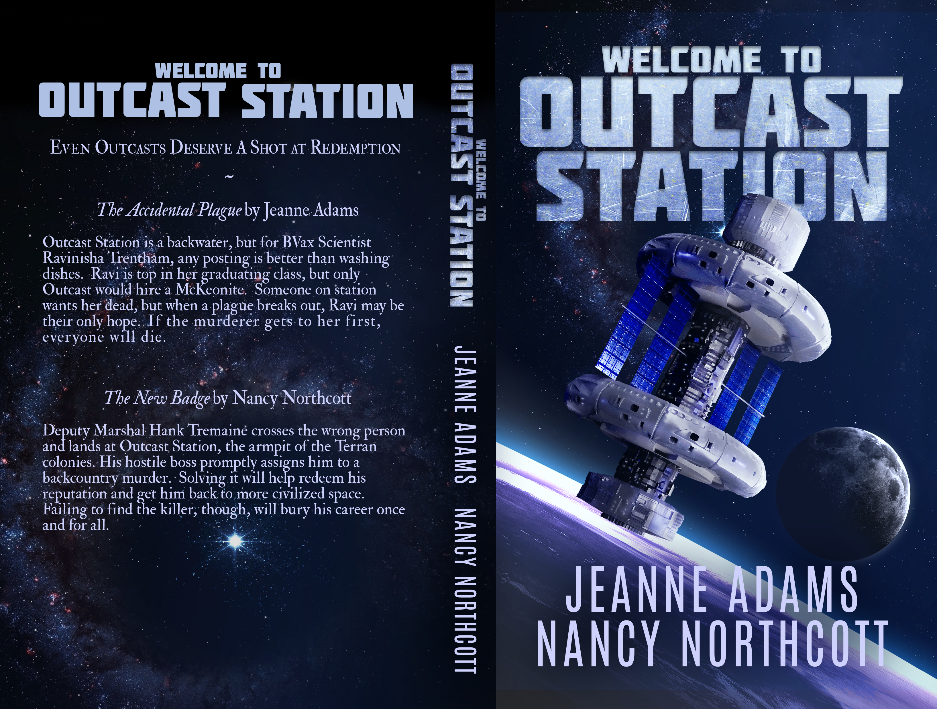 Welcome to Outcast Station full cover 5x8_BW_290