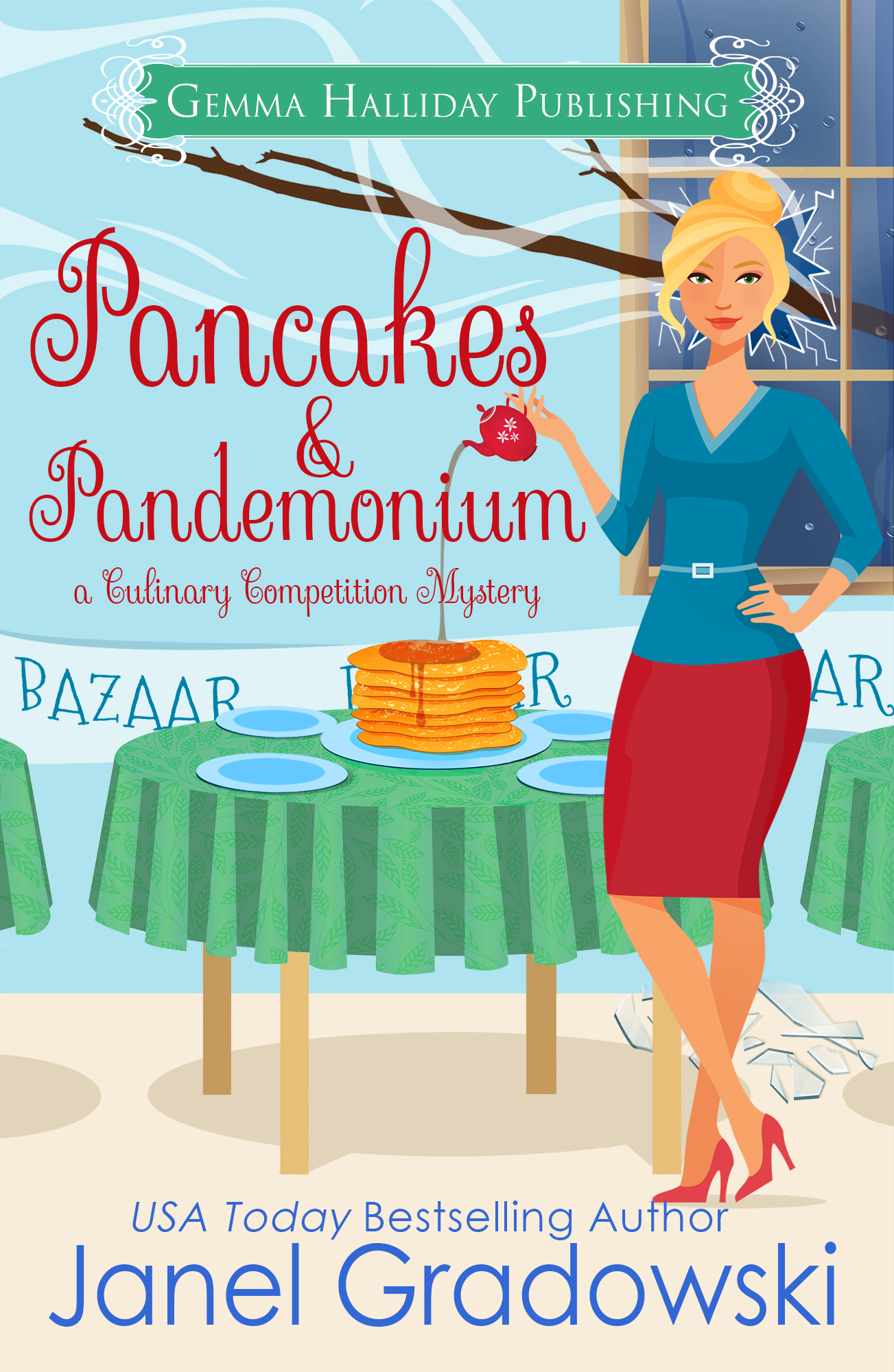 Pancakes and Pandemonium final for Barnes and Noble