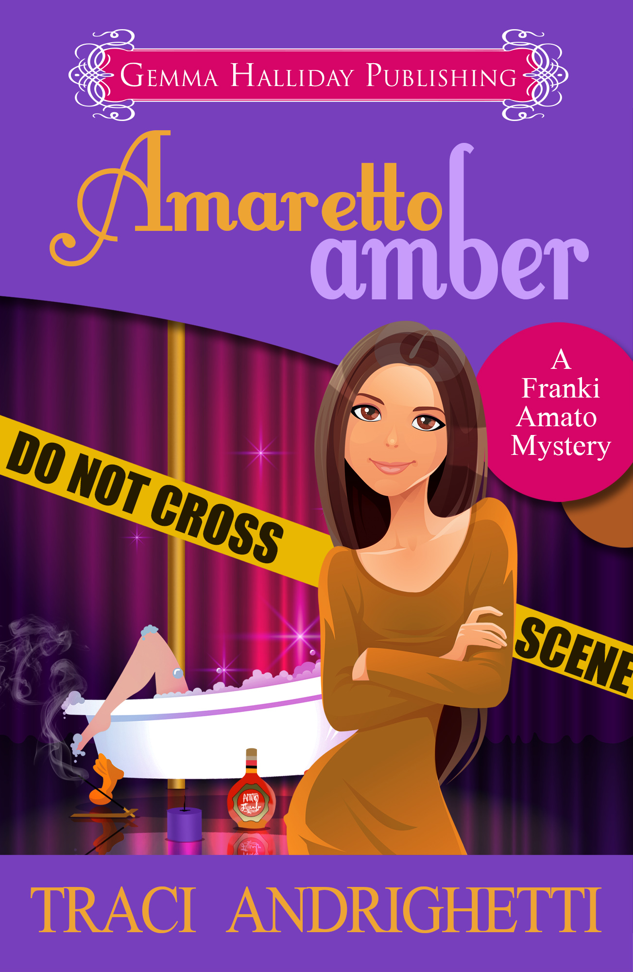 Amaretto Amber final for Barnes and Noble