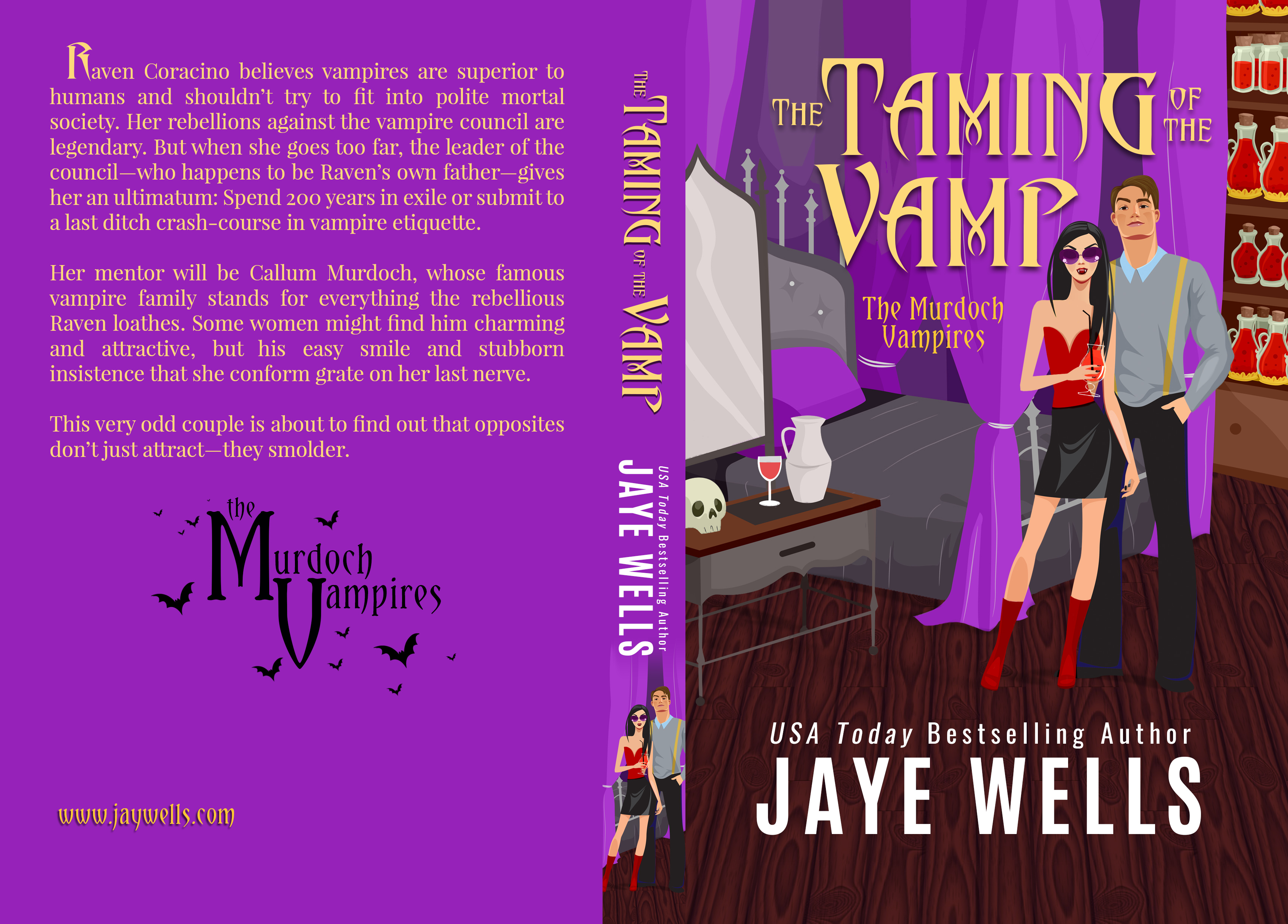 The Taming of the Vamp full 5_25 x 8 at 290 CREAM pages