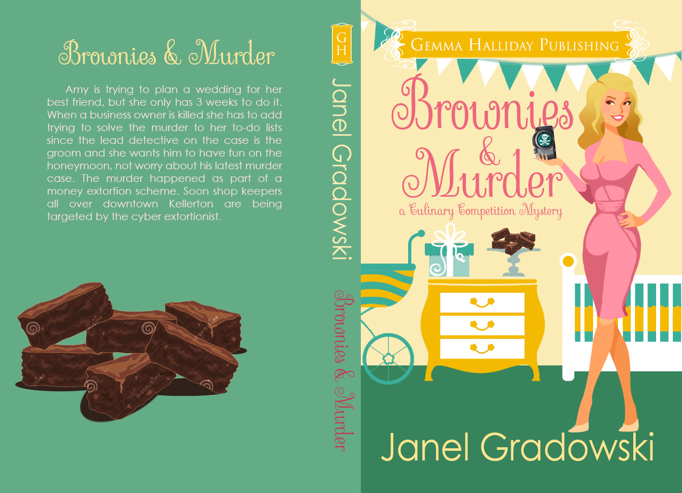 Brownies and Murder concept