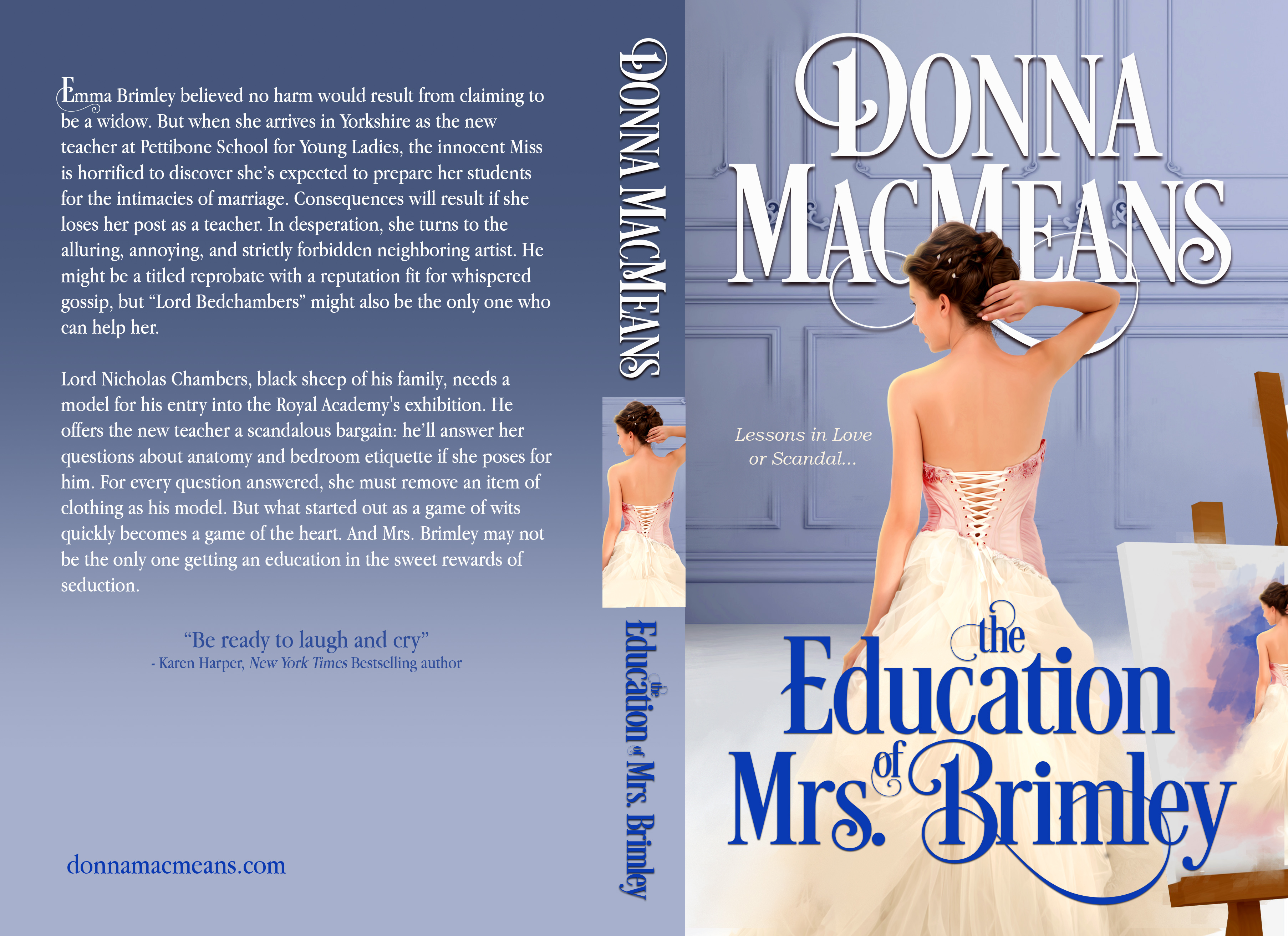 The Education of Mrs. Brimley 5_5 x 8_5 at 342 pages