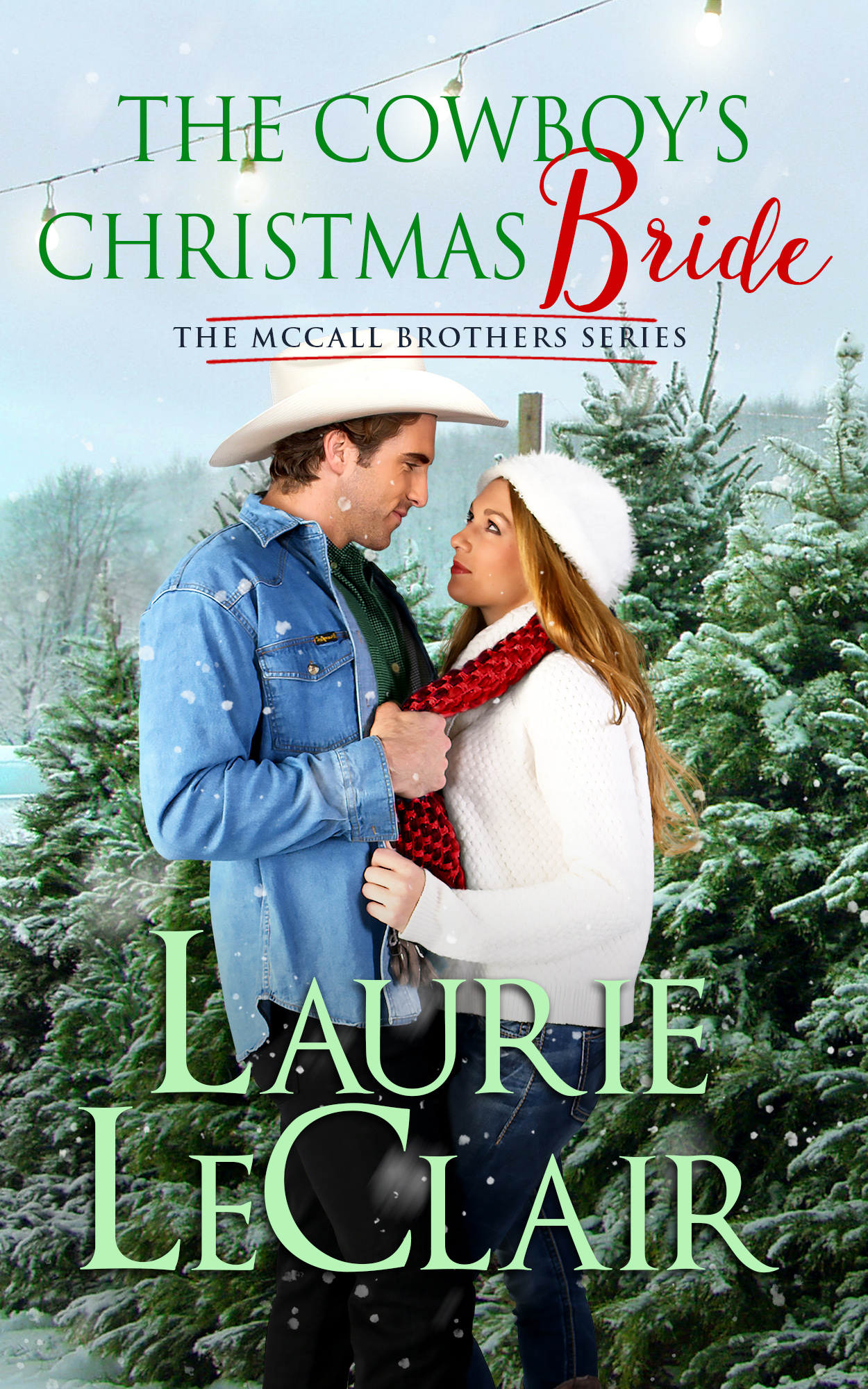 The Cowboy's Christmas Bride final for Barnes and Noble