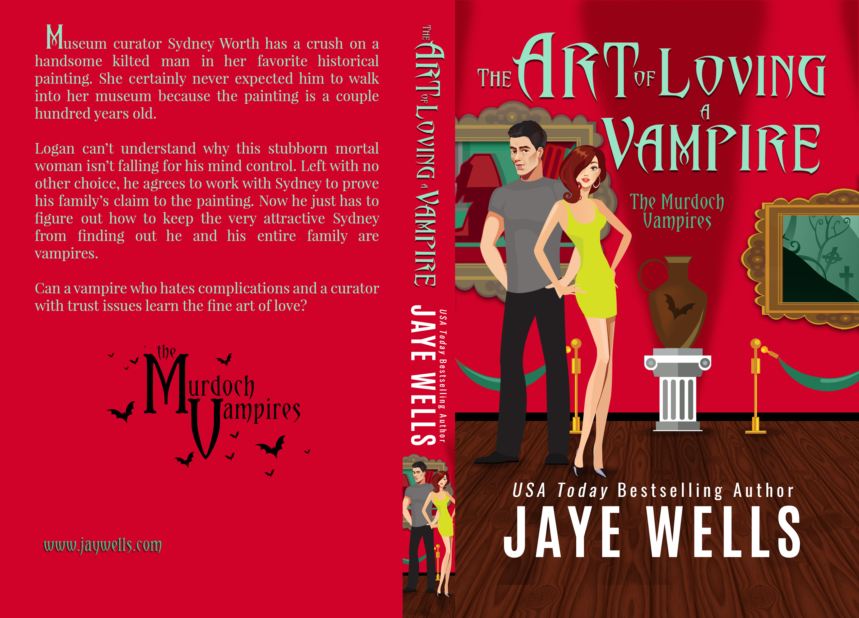 The Art of Loving a Vampire full 5_25 x 8 at 311  pages