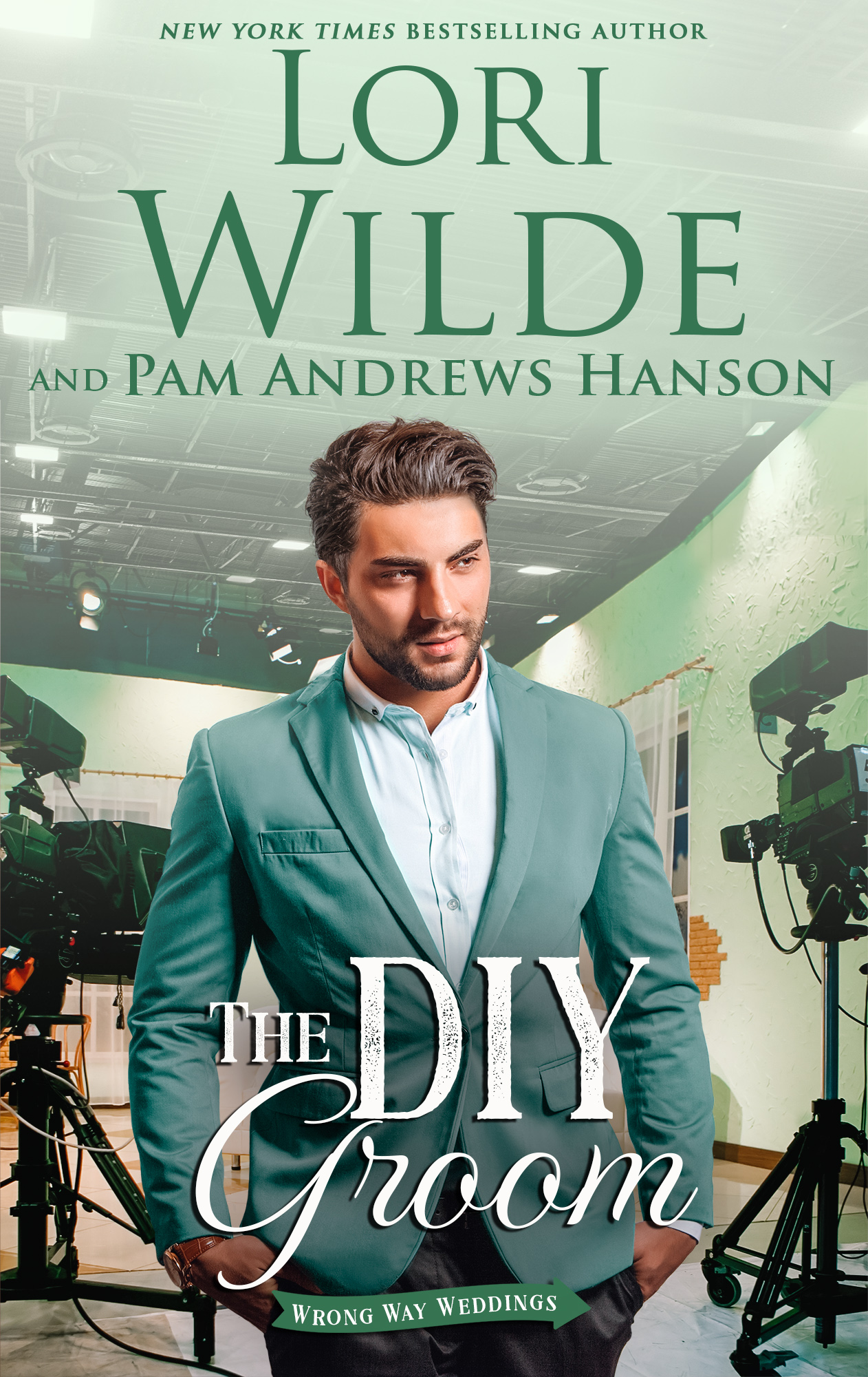 The DIY Groom final for Barnes and Noble