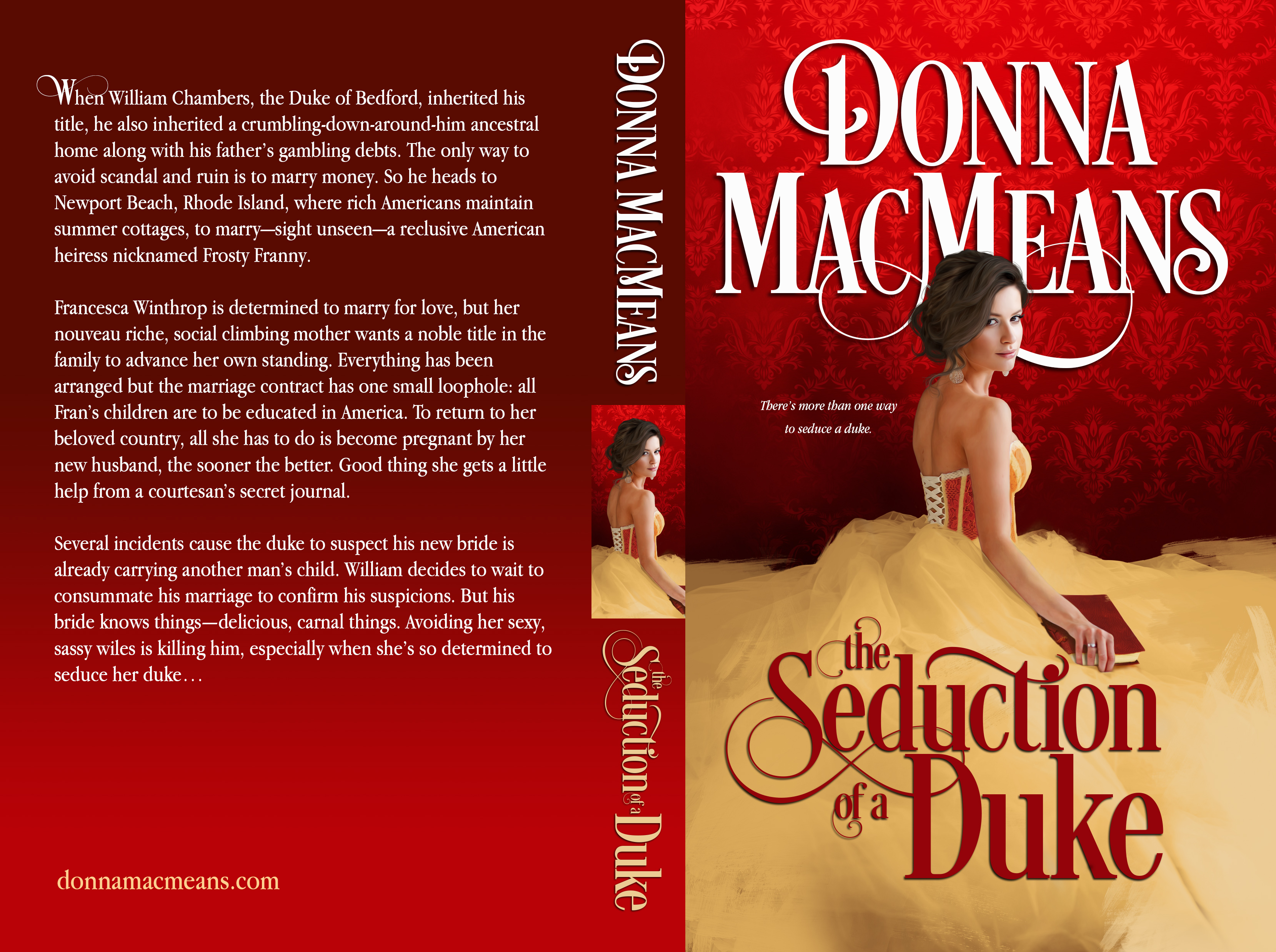 Seduction of a Duke WRONG PAGE COUNT