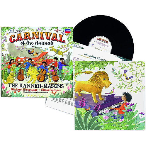 預訂The Kanneh-Massons Carnival 2LP