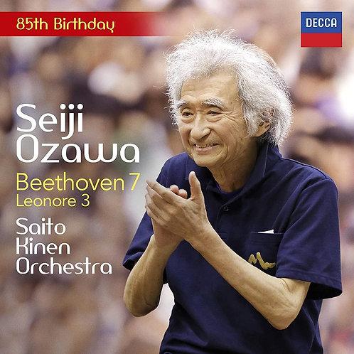 Seiji Ozawa 85th Birthday BEETHOVEN: Symphony No. 7 CD