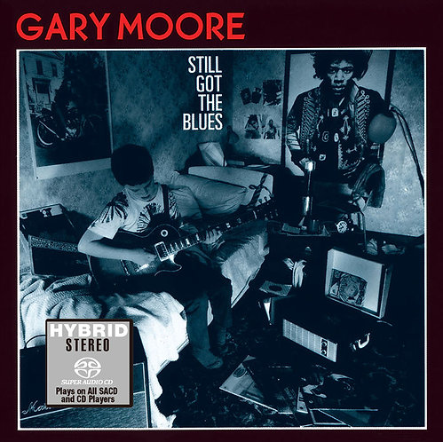 Gary Moore Still Got The Blues SACD (日本壓碟)