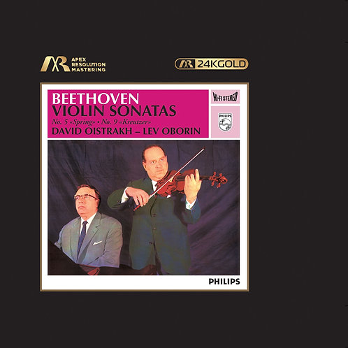 預訂 David Oistrakh Beethoven: Violin Sonatas 24K Gold CD