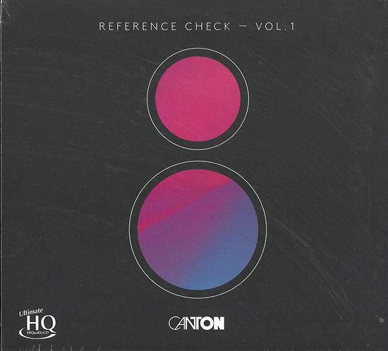 Canton Reference Check Vol.1 UHQCD