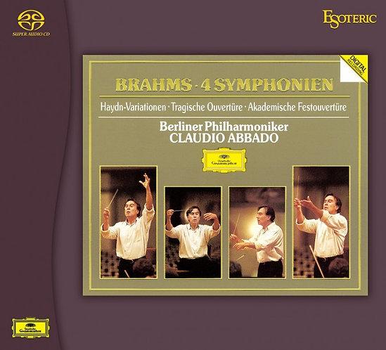 布拉姆斯:4 首交響曲 (3CD)
