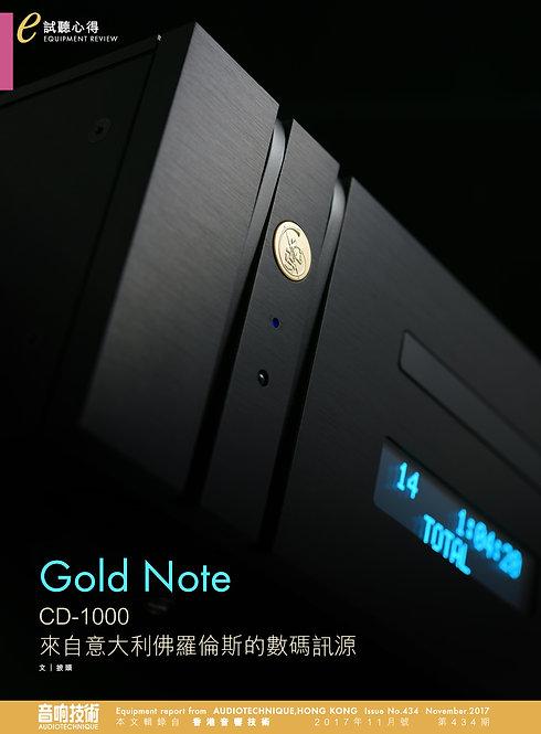 GoldNote CD 1000