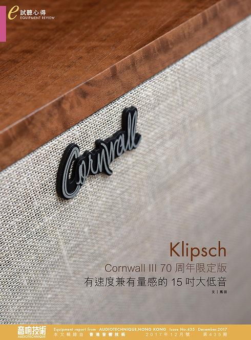 Klipsch Cornwall Speaker