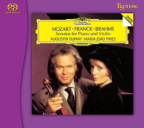 莫扎特、弗蘭克、布拉姆斯:小提琴、鋼琴奏鳴曲