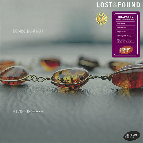 Lost & Found Denise Jannah & Atzko Kohashi 180g LP