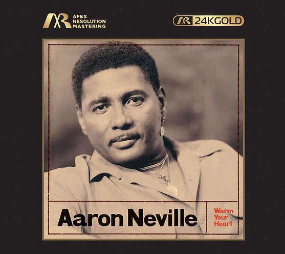 Aaron Neville Warm Your Heart ARM 24K Gold CD (日本製造)