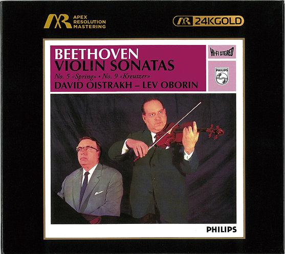 David Oistrakh Beethoven: Violin Sonatas ARM 24K Gold CD