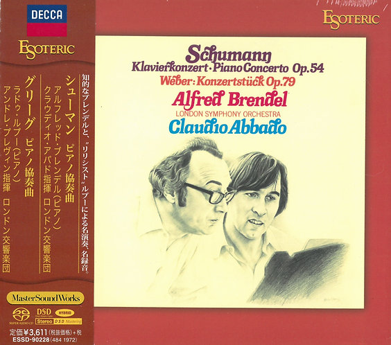 SCHUMANN, GRIEG Piano Concerto