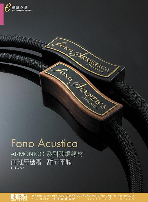 Fono Acoustica Armonico Cables