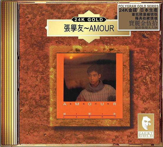 PolyGram 寶麗金50週年 張學友 Amour 24K Gold CD