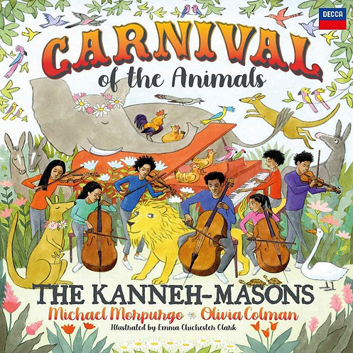 The Kanneh-Massons Carnival CD