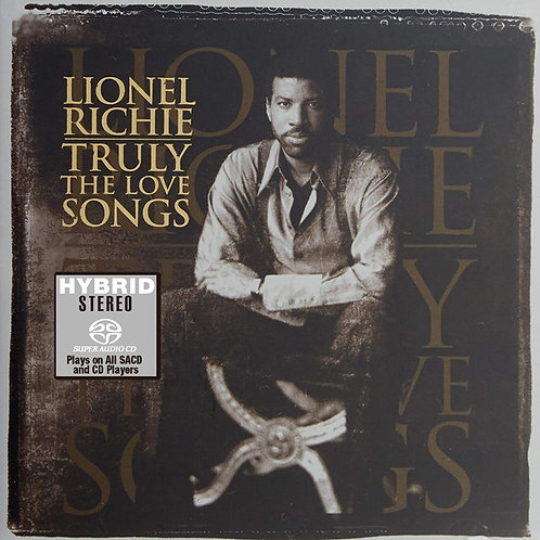 Lionel Richie Truly The Love Songs SACD (日本壓碟)