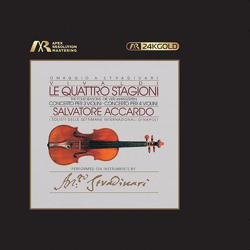 預訂 Salvatore Accardo Vivaldi: The Four Seasons 24K Gold CD