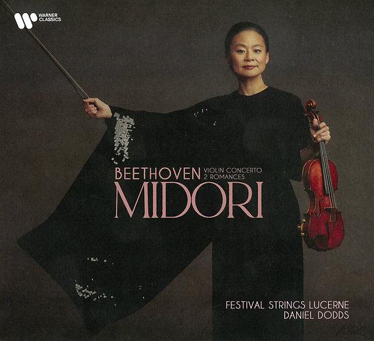 Midori Beethoven Violin Concerto Op.61 & Romances Op.40&50 CD