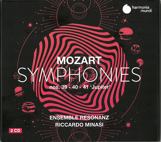 Mozart Symphonies 39,40&41 Jupiter 2CD