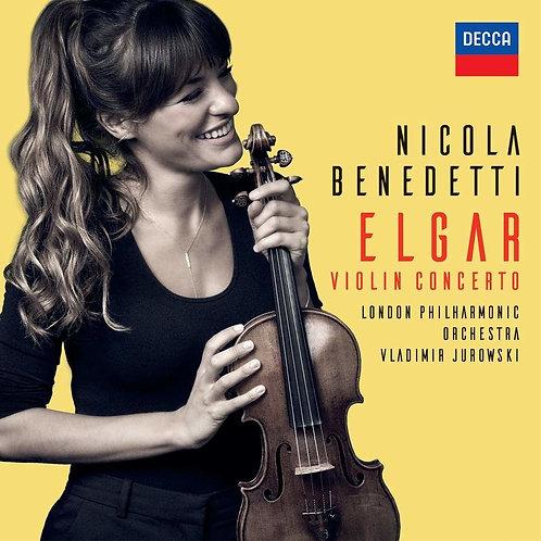 Nicola Benedetti ELGAR Violin Concerto CD
